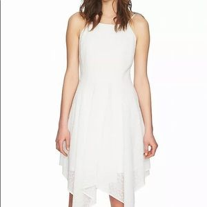 Cynthia Steffe NEW White Womens Asymmetrical Dress